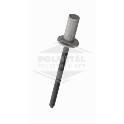 Alu acél zárt félgömbfejű húzószegecs 4x9,5 RAL 1002
