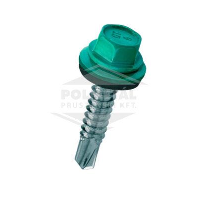 Hatlapfejű lemezcsavar fémhez EPDM alátéttel - 6,3 mm - többféle színben és méretben